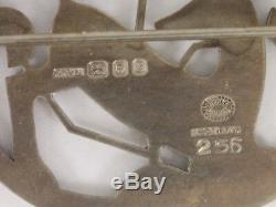 Georg Jensen Deer Brooch Arno Malinowski Vintage 1960 Sterling Silver 15.2g Cn33