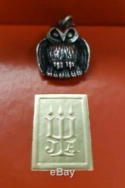 James Avery Vintage & Very Rare Retired Sterling Silver Owl charm