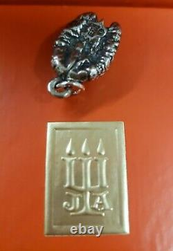 James Avery Vintage & Very Rare Retired Sterling Silver Pecan charm