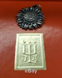 James Avery Vintage & Very Rare Retired Sterling Silver Sunflower charm