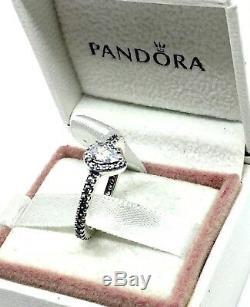 Pandora Silver Vintage Radiant Teardrop Ring