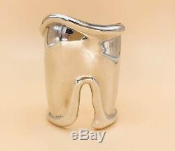 Tiffany Elsa Peretti Vintage Large Bone Cuff 1975