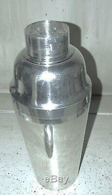 Vintage 950 Sterling Silver Martini Cocktail Shaker