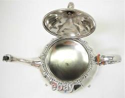 Vintage FERNER 4 Piece Sterling Silver COFFEE & TEA SET 2300 grams