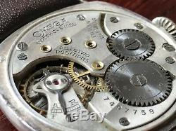 Vintage Gents Omega Mechanical Trench Watch RARE