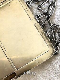 Vintage Sterling Silver Art Deco 925 Wallet Ladies Cigarette Case Coin Holder