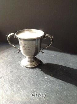 Vintage Sterling Silver Trophy Cup Redlich & Co