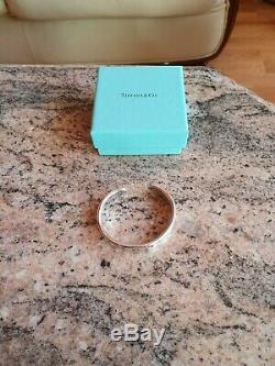 Vintage Tiffany & Co Silver 925 Cuff Bangle Bracelet Genuine