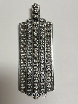 Vintage Uni David Andersen Marianne Berg Sterling Silver Modernist Pendant 925S
