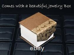 0.5ct Round Cut Diamond Wedding Ring Band 14k White Gold Finish Vintage Inspiré
