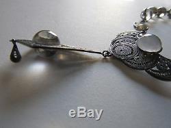 Antique Piscines Victorienne De Roche Quartz Collier Lumière