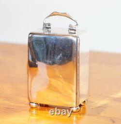 Argent Sterling Enamel Liberty's London Archibald Knox Miniature Carrier Horloge