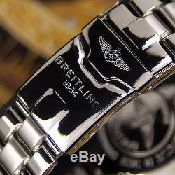 Authentique Breitling Aeromarine Chrono Shark Réf. A13051 Montre Homme Automatique