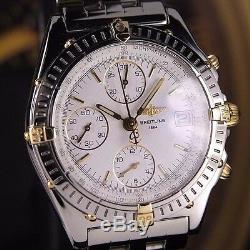 Authentique Breitling Chronomat Ref. B13050.1 Chronographe Automatique Mens Watch