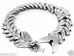 Bracelet Poisson Vintage En Argent Sterling Molco Vintage Style Taxco Mexique Molina 1925