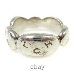 Chanel CC Logos Bague Argent Sv925 Taille 6 Accessoires Vintage 01648