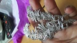 Immobilier Vintage 10.90cts Rose Cut Diamond Silver Bijoux Broches Victoriennes