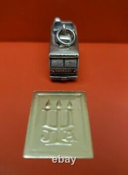 James Avery Vintage Rare Retraité Sterling Silver Rv Motorhome Charme