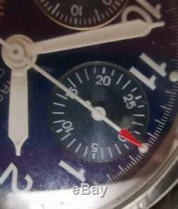 Khaki Automatique Chronographe 3830 Valjoux 7750