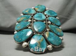 Le Plus Grand Et Le Meilleur Bracelet Vintage En Argent Sterling Zuni Sur Internet