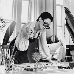 Rare Vintage Elsa Peretti Pour Halston Bouteille De Parfum Collier En Argent Sterling