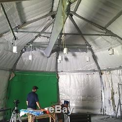 Structure Suspendue, Construction En Tissu, Tente