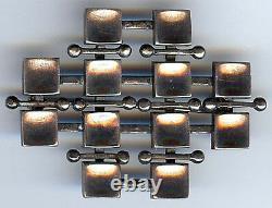 Uni David Andersen Norway Vintage Modernist Sterling Silver Troll Series Pin