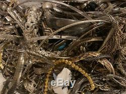 Vintage 925 Bijoux En Argent Gros Lot 1 $ Par Gramme Tous Wearable