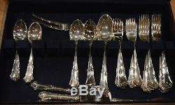 Vintage Buccellati Savoy Sterling Silver Set Giovanni Mantel Flatware 12 Réglage