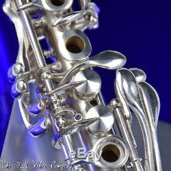 Vintage Clarinette Royale En Argent Massif H. N. White Silver Cloche Super