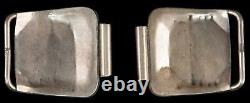 Vintage Native American Sterling Silver & Turquoise Bracelet De Montre Conseils