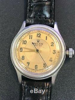 Vintage Rolex Oyster Tudor Montre Sterling Colliers D'homme