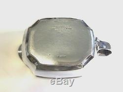 Vintage Tiffany & Co. Hampton Sterling Silver 3 Pièces À Café / Thé Set # 18889