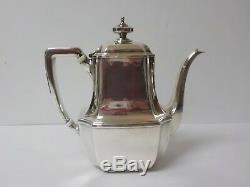 Vintage Tiffany & Co. Hampton Sterling Silver 6 Pièces À Café / Thé Set # 18389