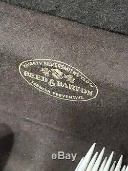Vintage Wallace Grande Boroque 56 Pcs Servant À 8 Argent Sterling Coutellerie